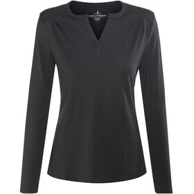 Royal Robbins Merinolux Henley Women Jet Black